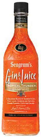 Seagram's Gin & Juice Tropical Thunder With Ginger